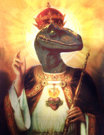 Raptor_Jesus_by_DangermouseDavs
