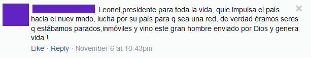 Presidente vitalicio...